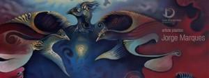 """Exposição de pintura e desenho """"Fragmentos do Imaginário"""" pelo artista Jorge Marques"""